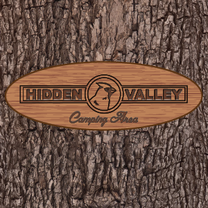 Hidden Valley Camping Area Logo - Jamestown, NY