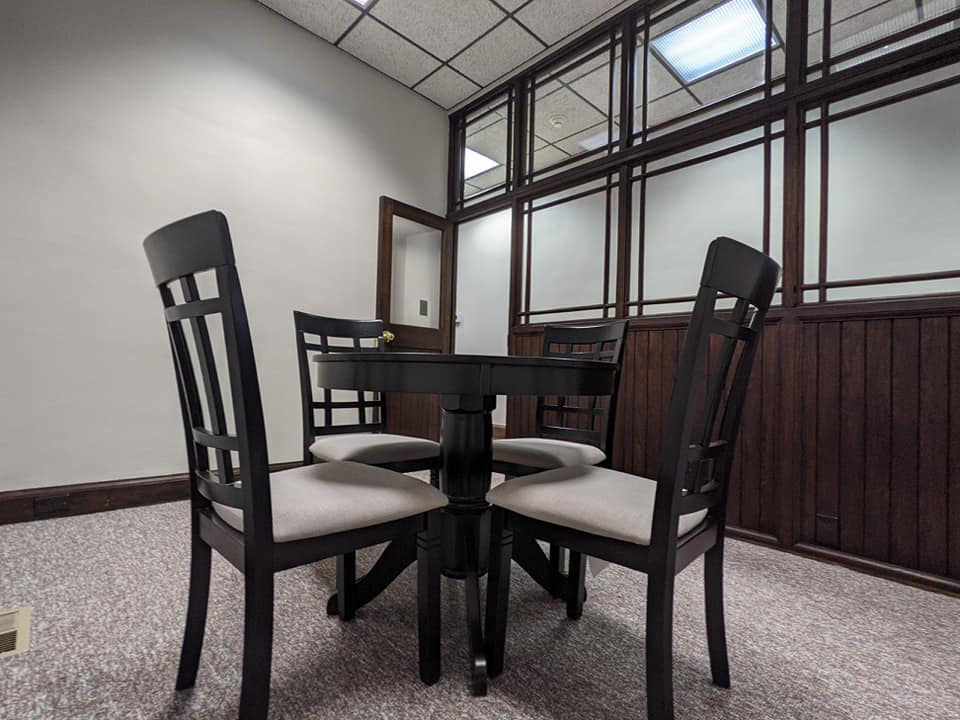 Conference Rooms For Rent Jamestown, NY Table & Chairs Provided